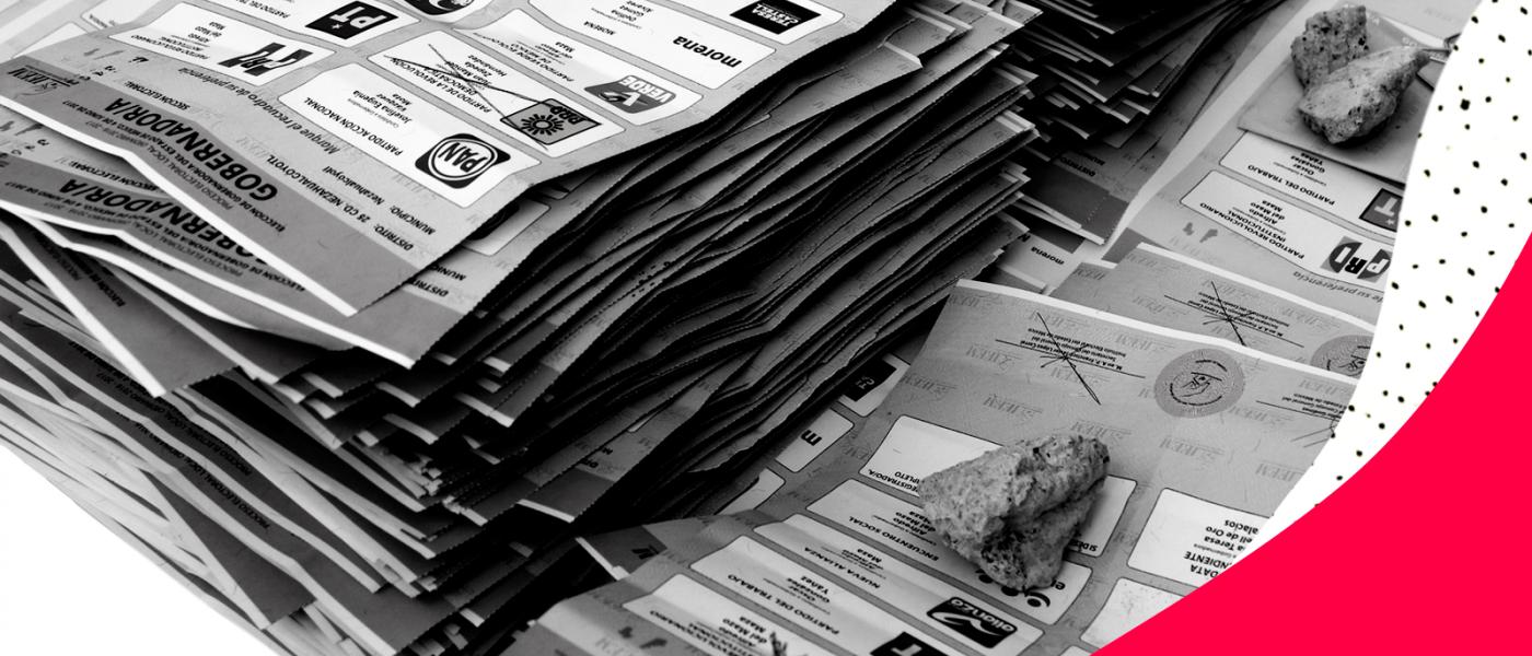 501eab925ac0f Cómo debes marcar la boleta para que tu voto cuente  ~ Verificado 2018