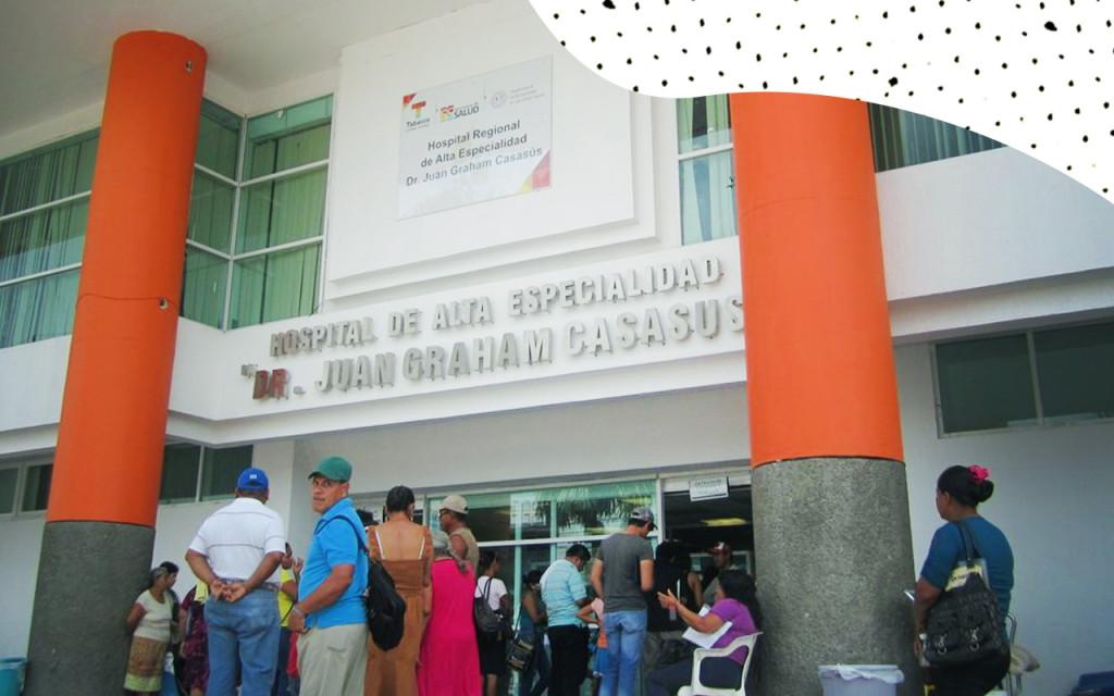 Resultado de imagen para hospital Regional Dr. Juan Graham Casasús de Tabasco pri